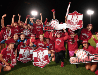 Arkansas women's soccer team wins SEC