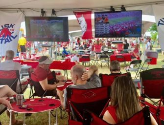Tusk to Tail: A long-awaited tailgating return included vodka, gin, and hippie Santas